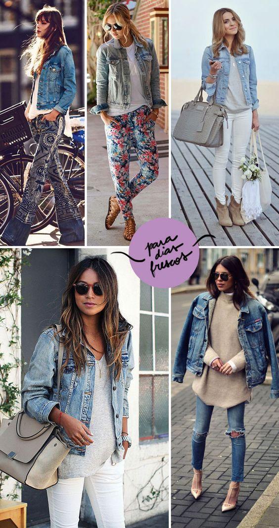 look jaqueta jeans 2